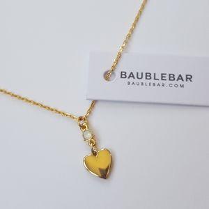 BaubleBar Heart Necklace